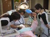 歯科医院の増患・増収セミナーの様子
